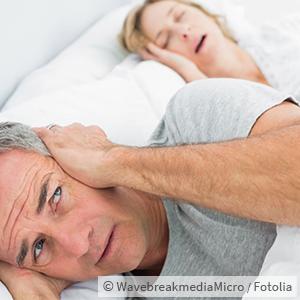 Snoring disturbs partner's sleep