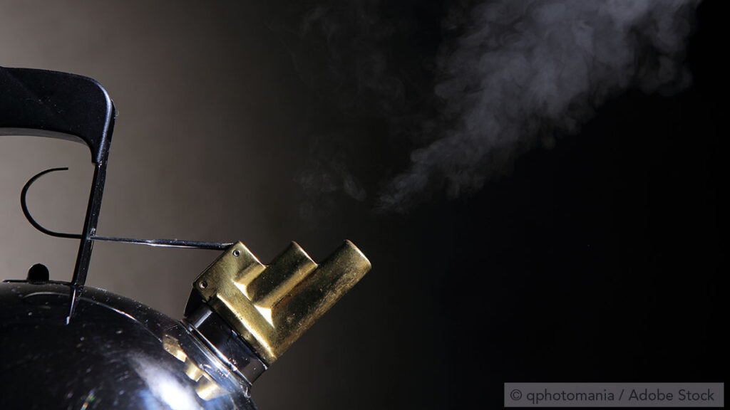 Negative pressure in the respiratory tract